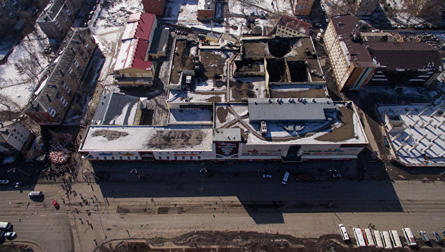 СК сказал о задержании гендиректора компании— собственника зданияТЦ «Зимняя Вишня»