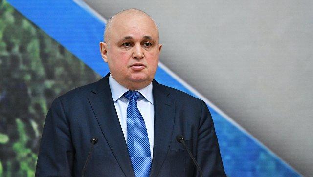 Врио губернатора Кемеровской области Сергей Цивилев. архивное фото