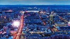 Вечерний Екатеринбург. Архивное фото
