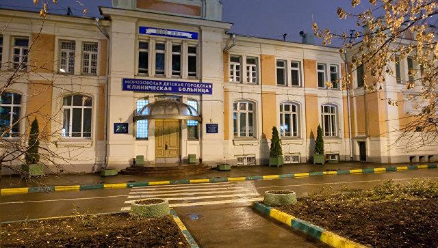 В МЧС опровергли информацию об эвакуации из детской больницы в Москве