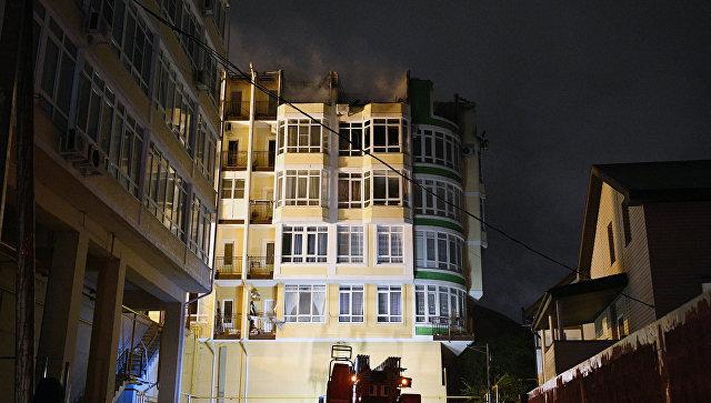 Горевший в Сочи многоэтажный дом узаконили через фальшивую экспертизу