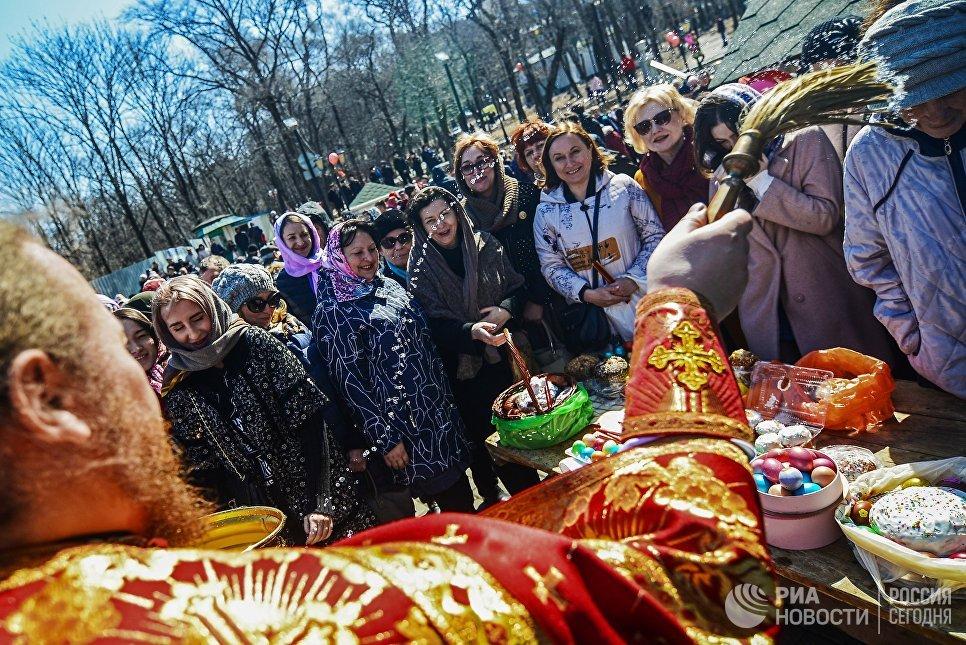 Празднование Пасхи во Владивостоке