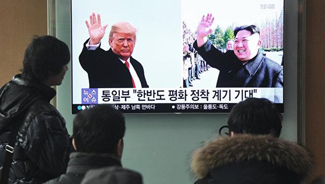 Трамп ждет «замечательной» встречи сКим Чен Ыном