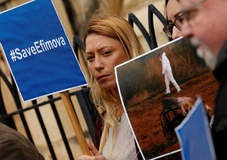 Суд вГреции отказался экстрадировать россиянку Ефимову позапросу Мальты