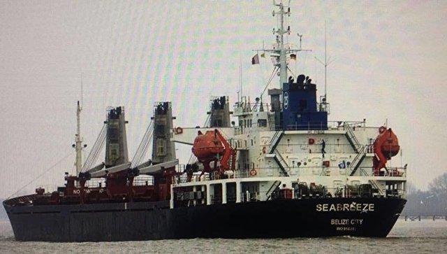 Фотография судна, опубликованная генеральным прокурором Украины Юрием Луценко в Facebook