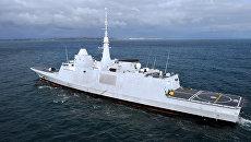 Французский фрегат Aquitaine. Архивное фото
