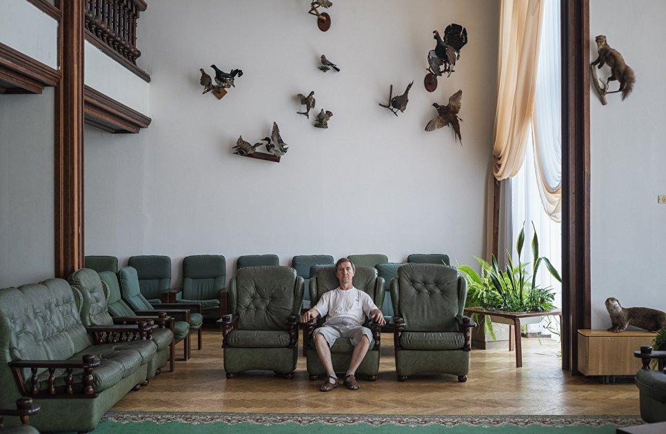 Санаторий «Амра Интернешнл». Абхазия, 2016 год. Автор - Дмитрий Лукьянов.