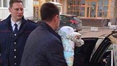 Ребенок, которого пытлись продать в Москве