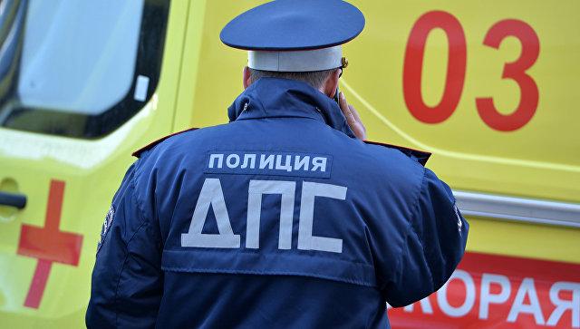 В Тульской области пять человек пострадали в ДТП с участием микроавтобуса
