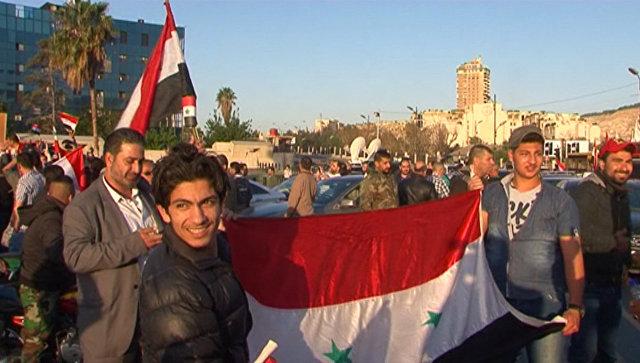 Преступная, подлая война - жители Дамаска о ракетном ударе по Сирии