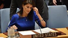Постпред США при ООН Никки Хейли. Архивное фото