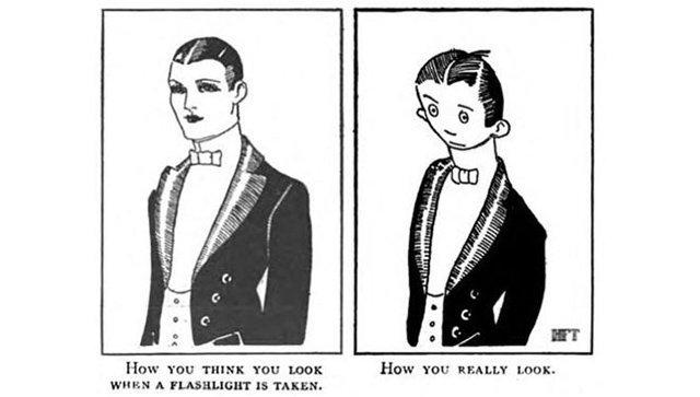 Иллюстрация из американского юмористического журнала The Judge. 1921