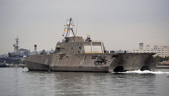 СМИ раскритиковали «мусорные» американские боевые корабли