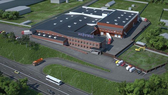 Визуализация проекта реконструкции мебельной фабрики «Домотека»