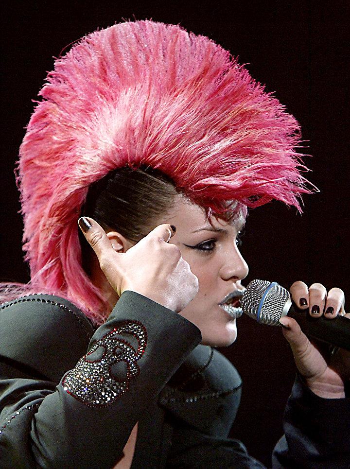 Американская певица Пинк