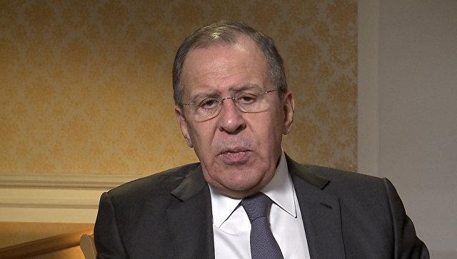 Лавров о химатаке в Думе, инциденте в Солсбери и взаимоотношениях РФ и США