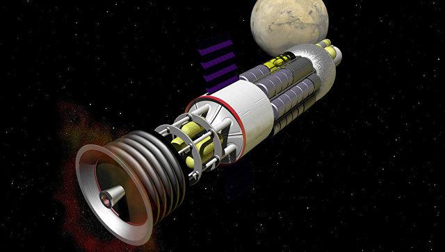 Взрыволет - атомно-импульсная ракета
