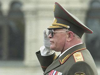 Бывший министр обороны России Игорь Сергеев. Архивное фото