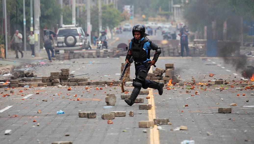 В Никарагуа десять человек погибли, десятки пострадали во время протестов
