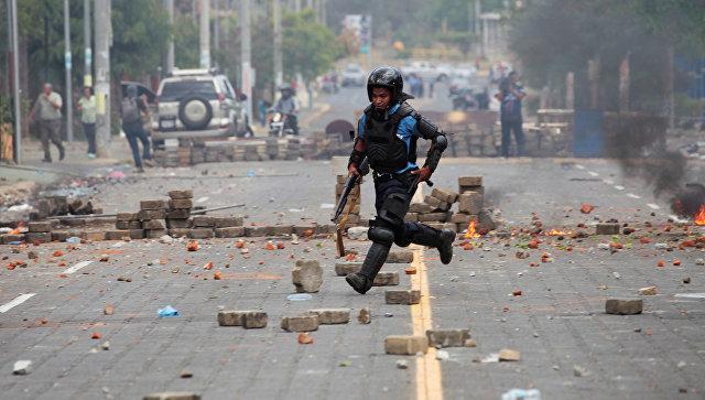 Вовремя антиправительственных протестов вНикарагуа погибли 5 человек