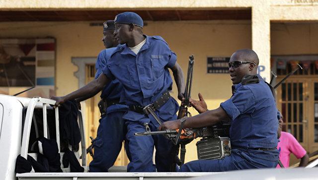 Полиция в Бурунди. Архивное фото