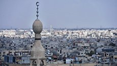 Дома в пригороде Дамаска. Архивное фото