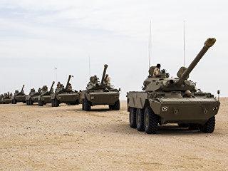 Бронетехника Вооруженных сил Катара. Архивное фото