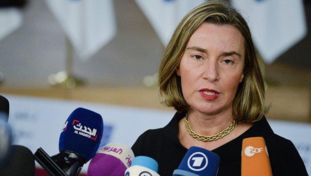 Верховный представитель Европейского союза по иностранным делам и политике безопасности ЕС Федерика Могерини. Архивное фото