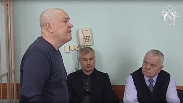 Игорь Митрофанов в суде