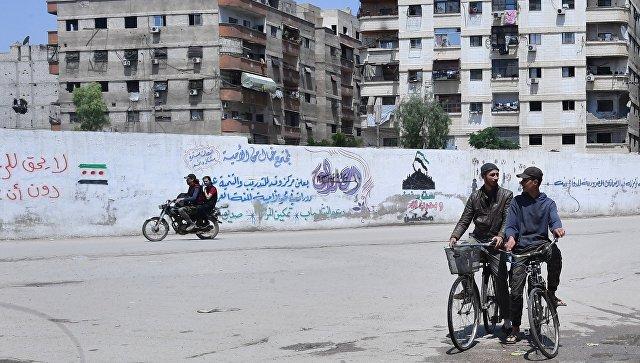 Семь тыс. палестинских беженцев покинули сирийский лагерь Ярмук из-за боев