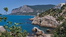 Бухта Ласпи в Крыму. Архивное фото