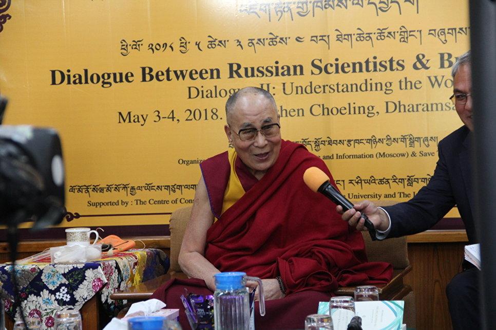 Далай-лама обозначил главную рольРФ вмире