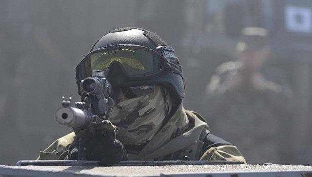 Сотрудник российской спецслужбы. Архивное фото