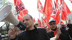 Координатор движения Левый фронт Сергей Удальцов. Архивное фото