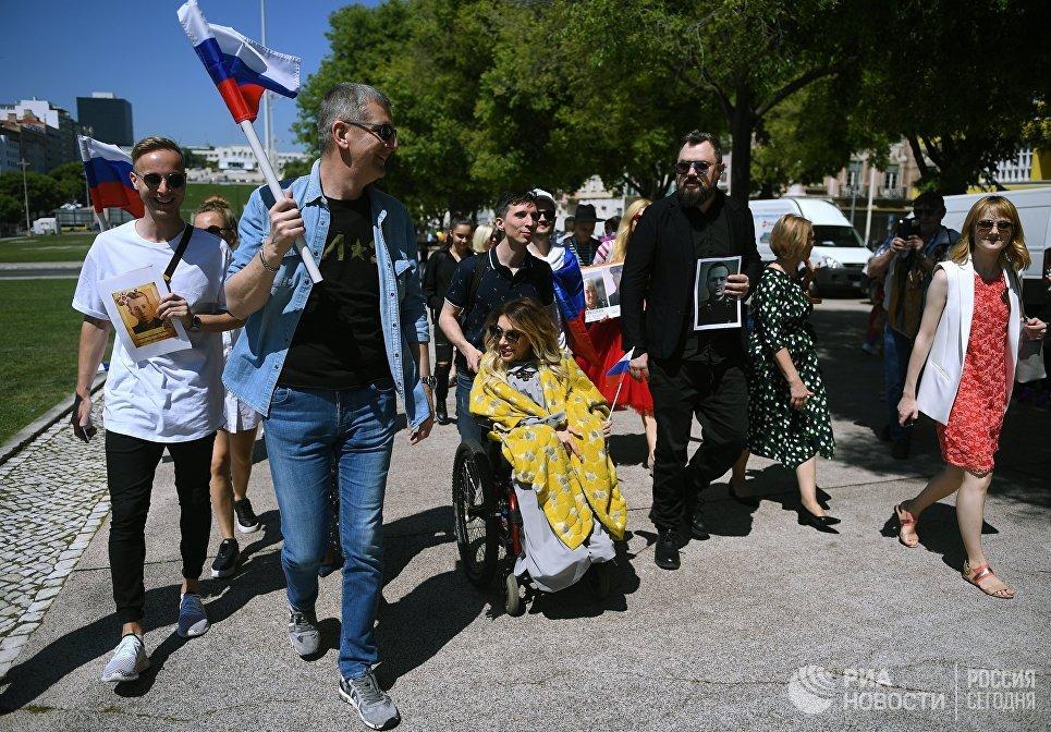 Россиянка Юлия Самойлова выступит сегодня, 10мая, вовтором полуфинале Евровидения
