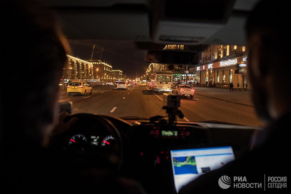 Как проверяют освещение Москвы