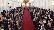 Инаугурация президента России Владимира Путина. 7 мая 2018