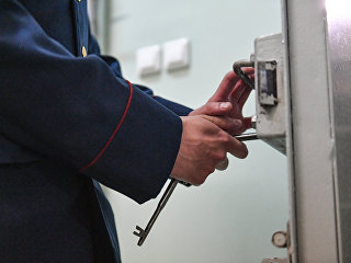 Сотрудник ФСИН России в следственном изоляторе. Архивное фото