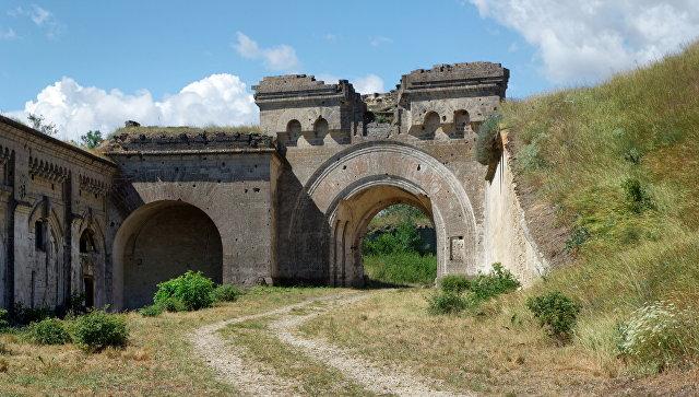 Керченская крепость. Архивное фото