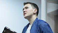 Депутат Верховной рады Украины Надежды Савченко. Архивное фото