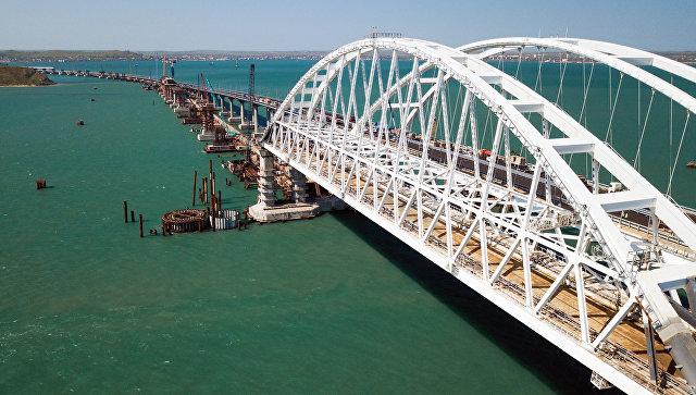 克里米亚大桥的建设