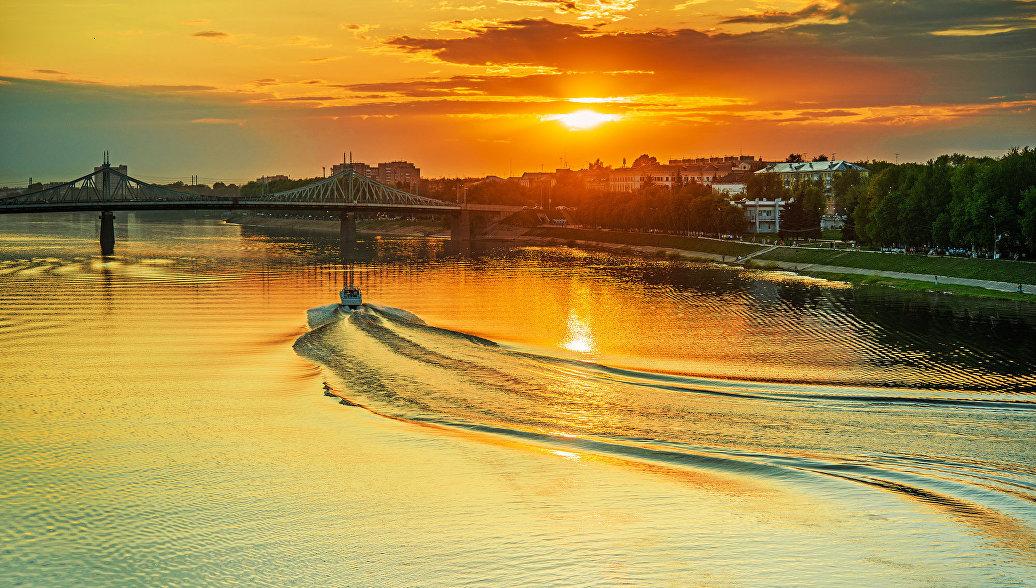 Вид на город Тверь. Архивное фото