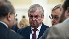 Спецпредставитель президента РФ по Сирии Александр Лаврентьев перед началом переговоров по сирийскому урегулированию в Астане. Архивное фото