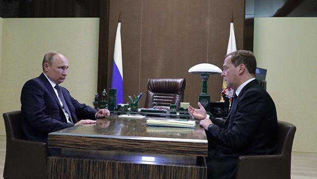 Новые названия идолжности: Путин подписал указ оновой структуре правительства