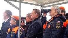Участников учений в Подмосковье оснастили спецтехникой Швабе