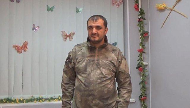 Командир подразделения Пятнашка Олег Мамиев. Архивное фото
