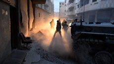 Сирийские военнослужащие. Архивное фото