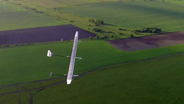 Прототип первого российского атмосферного спутника на солнечных батареях Сова