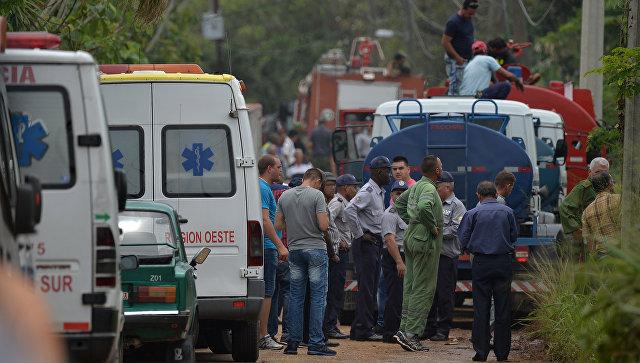 На Кубе более ста человек погибли при крушении самолета