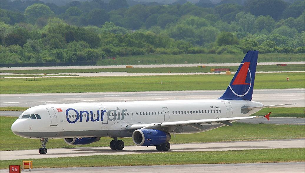 Самолет авиакомпании Onur Air. Архивное фото